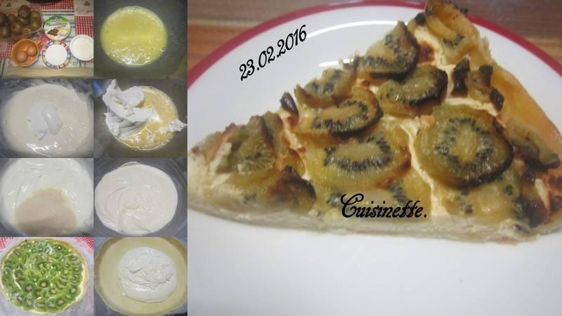 Tarte aux kiwis.mascarpone.   12745810