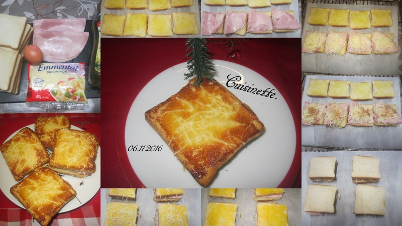 Croque-monsieur au jambon. Croque10