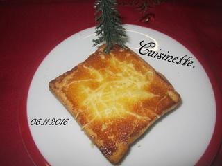 Croque-monsieur au jambon. Img_3612