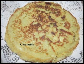Gâteau aux pommes à la poêle. Img_4114