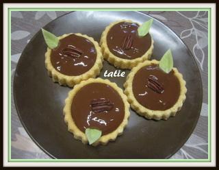 Tartelettes à la crème chocolat. Img_4116