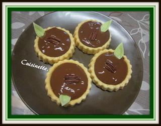 Tartelettes à la crème au chocolat. Img_4117
