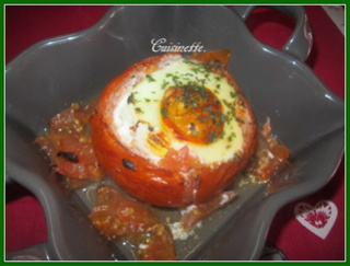 Tomates farcies.viande et œufs. Img_4212