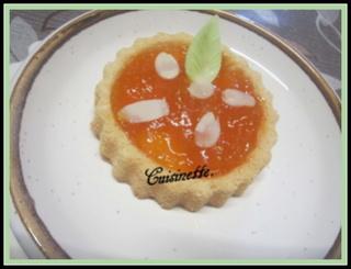 Tartelettes à la confiture abricots allégée. Img_4311