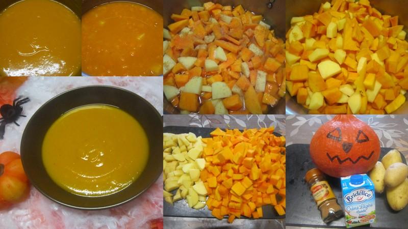 Soupe de potiron à la crème fraiche. Soupe_10