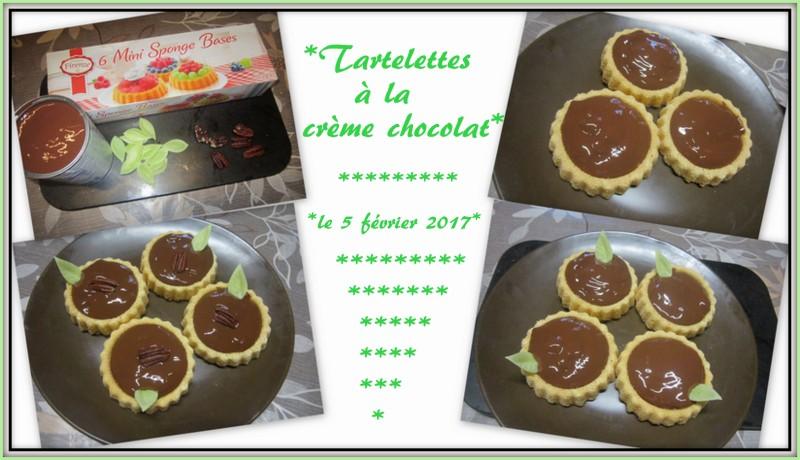 Tartelettes à la crème au chocolat. Tartel11