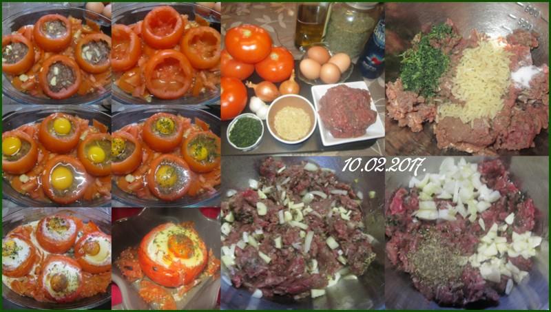 Tomates farcies.viande et œufs. Tomate10