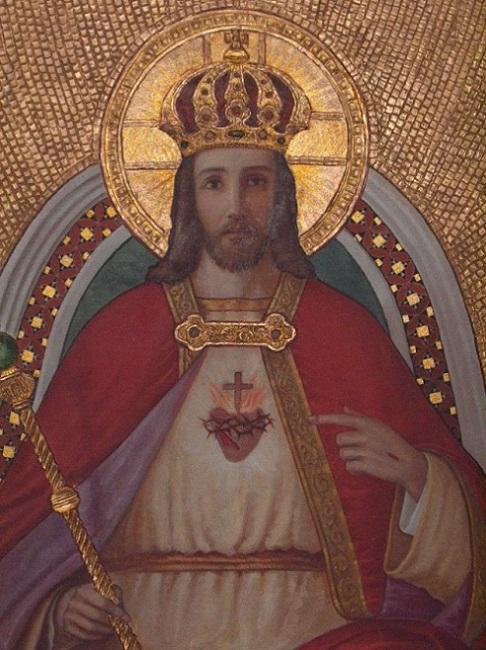 Neuvaine au Christ Roi de l'Univers : Du 12 au 20 novembre   Christ10