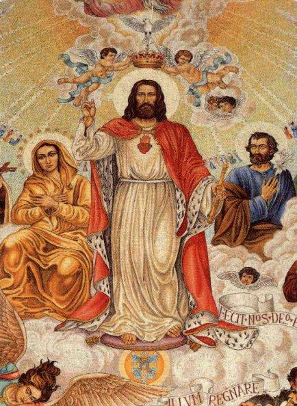 Neuvaine au Christ Roi de l'Univers : Du 12 au 20 novembre   Christ11
