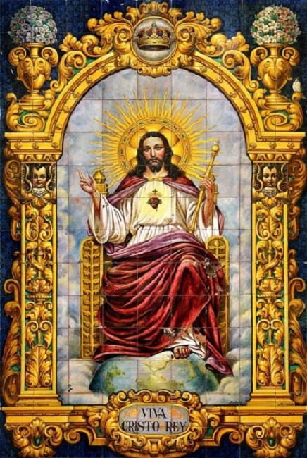 Neuvaine au Christ Roi de l'Univers : Du 12 au 20 novembre   Cristo10