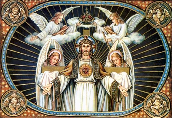 Neuvaine au Christ Roi de l'Univers : Du 12 au 20 novembre   The-ki10