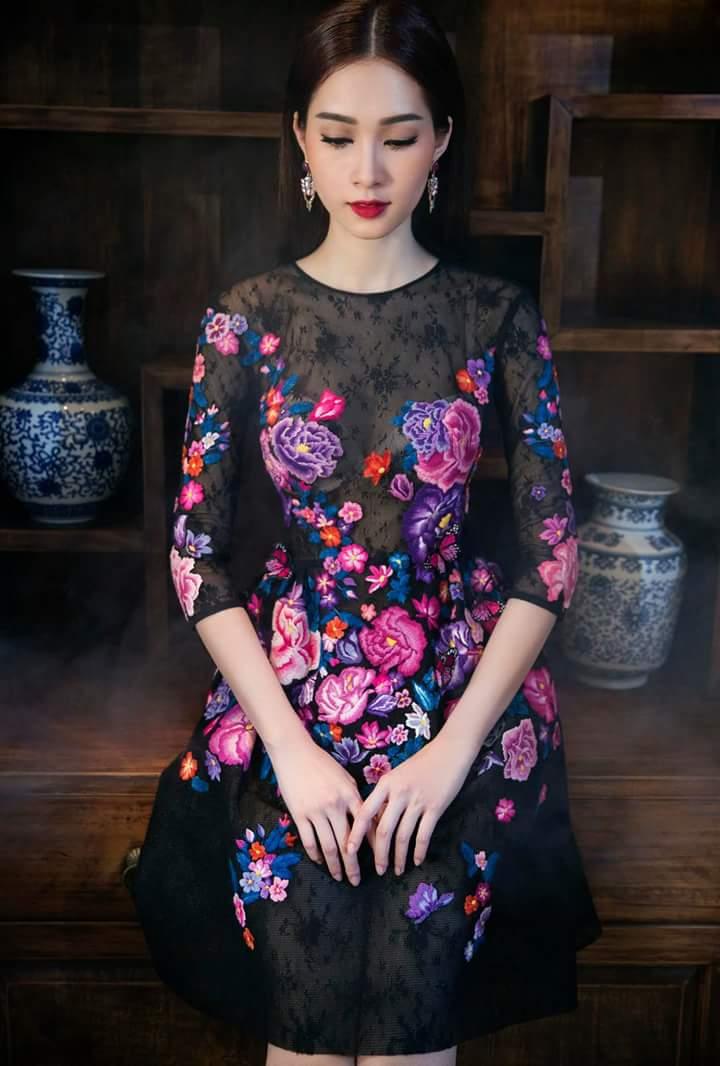 Hoa Hậu Thu Thảo lộng lẫy trong bộ ảnh mới Fb_img27