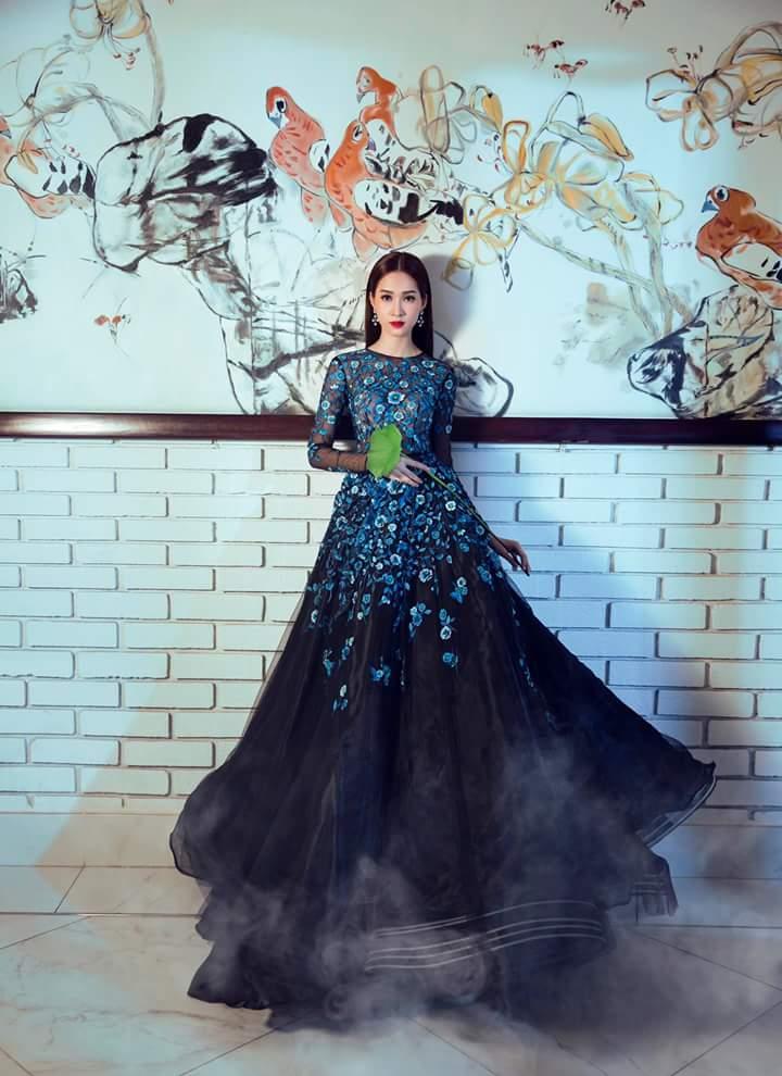 Hoa Hậu Thu Thảo lộng lẫy trong bộ ảnh mới Fb_img30