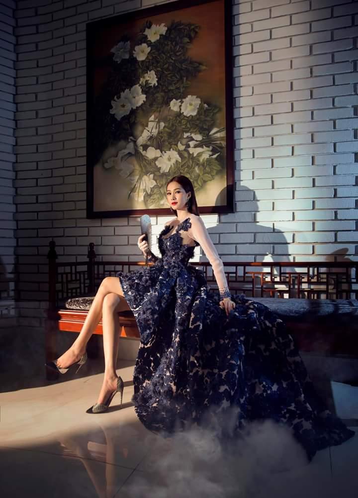 Hoa Hậu Thu Thảo lộng lẫy trong bộ ảnh mới Fb_img36