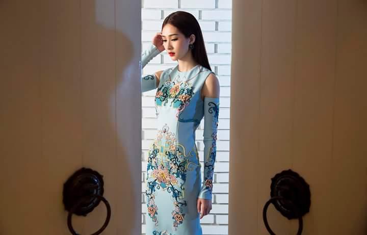 Hoa Hậu Thu Thảo lộng lẫy trong bộ ảnh mới Fb_img39