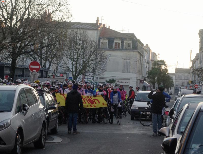 Téléthon Rochefort des sportifs et un défi ! Imgp8616