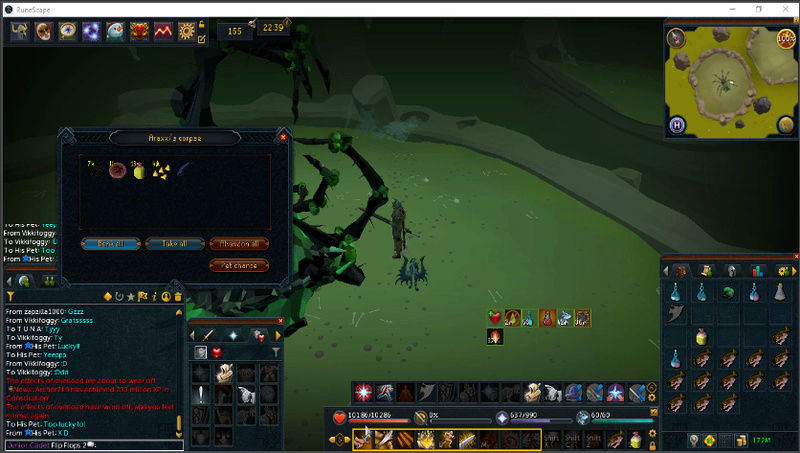 A shit ton of drops I've gotten in the past year or so Fang210