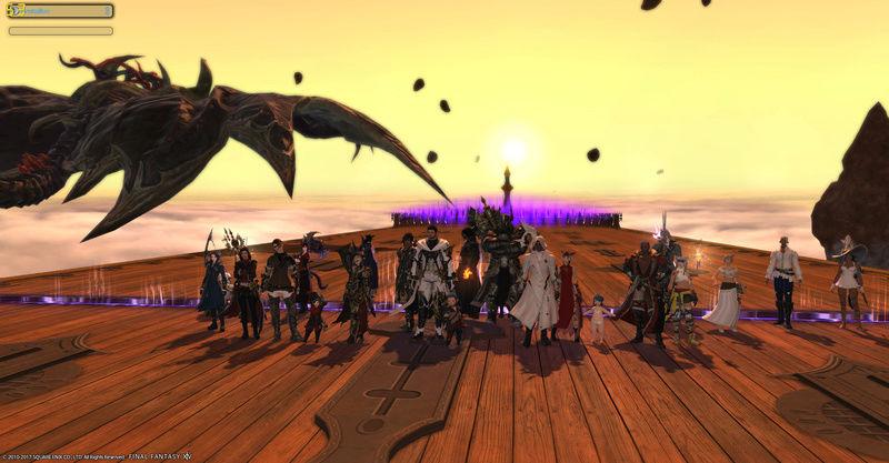Petite photo de guilde ^^ raid 24 Ffxiv_12