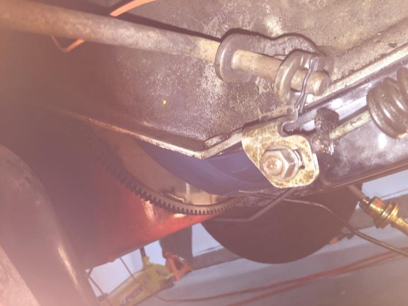 Automatic shifter installation 73 chevelle Unadju43