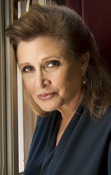 "Carrie Fisher, princesse Leia de ""Star Wars"", est morte Carrie10"