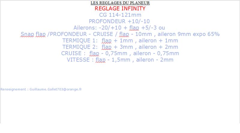NEW INFINITY F5J FRED MODELISME - Page 6 Infini14