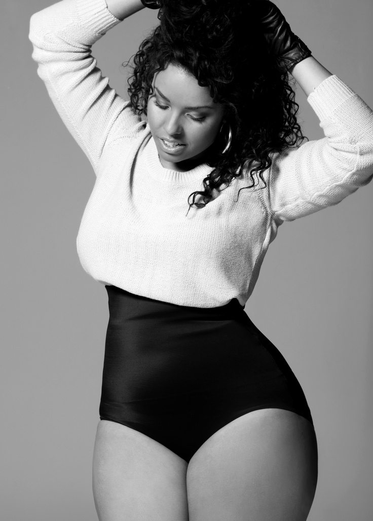 African American curvy and confident beauties show off their figure Tumblr15