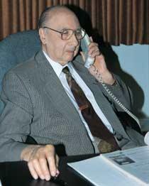 Abram Hoffer, 2003