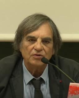 Marcel Rufo dans une conférence à l'Université de Strasbourg en 2015