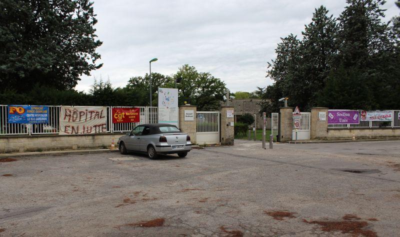 Le centre hospitalier du Mas Careiron Uzes