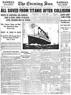 Naufrage du Titanic Evenin10
