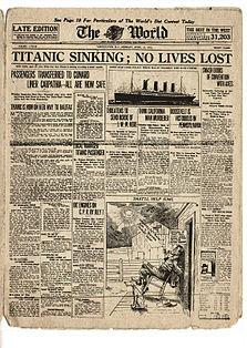 Naufrage du Titanic The_wo10