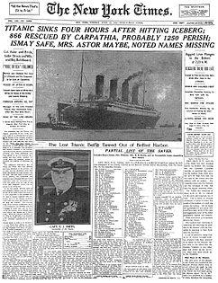 Naufrage du Titanic Titani11
