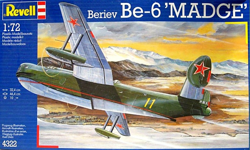 "[Revell] Beriev Be-6 ""MADGE"" Be-6-010"