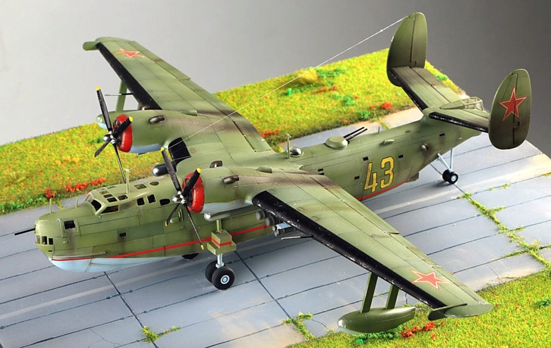 "[Revell] Beriev Be-6 ""MADGE"" Be-6-011"