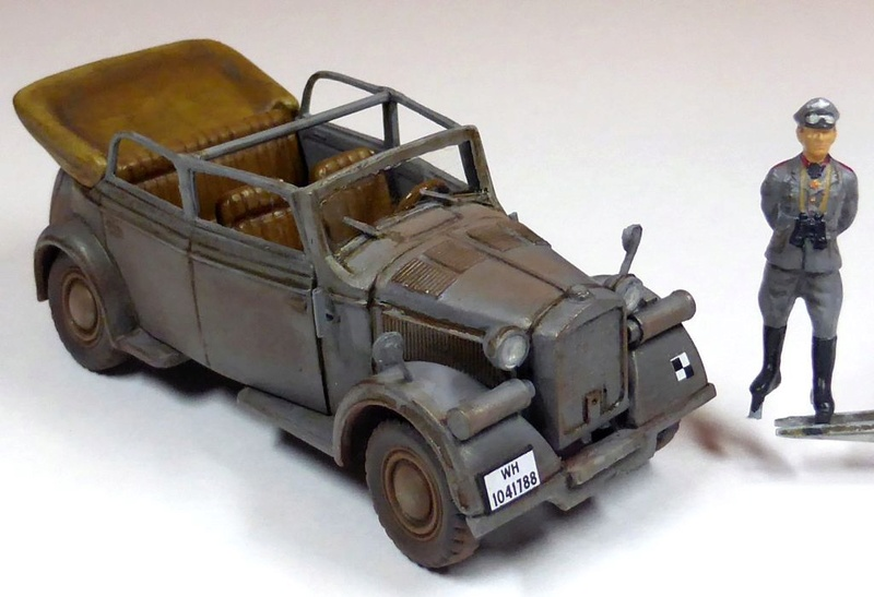 "Ma collection au 1/72ème - la ""seconde vie de Luc le Belch"" Kfz21-25"