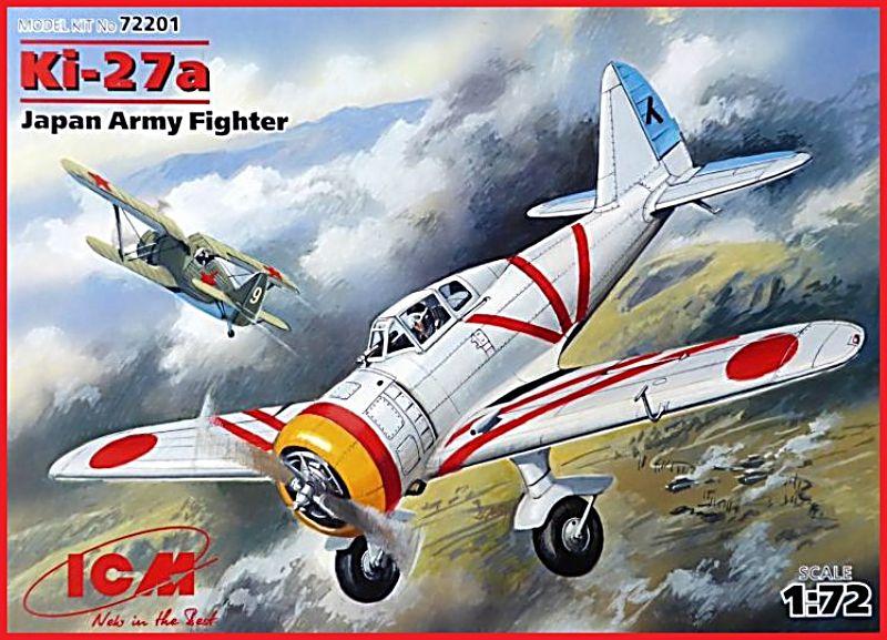 """[ICM] KI 27 code allié """"Nate"""" Ki-27a10"""