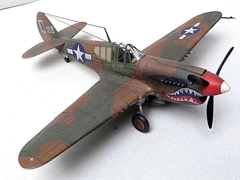 [Hobby Boss] - Curtiss P40 rénovation en Groupe Lafayette 1943  P40ryn10