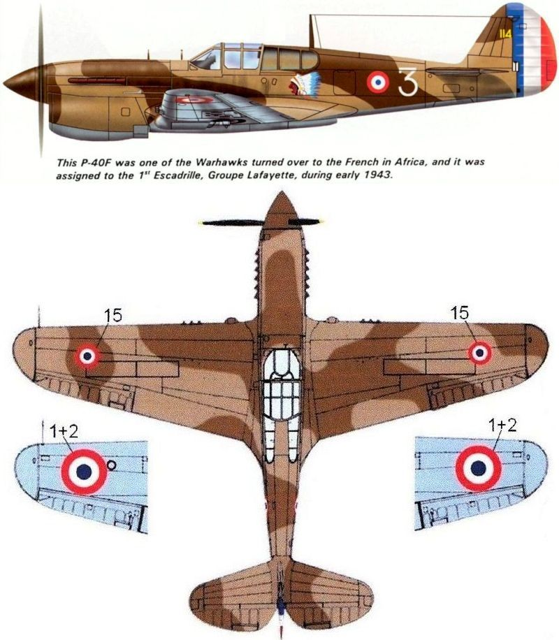 [Hobby Boss] - Curtiss P40 rénovation en Groupe Lafayette 1943  - Page 2 P40ryn17