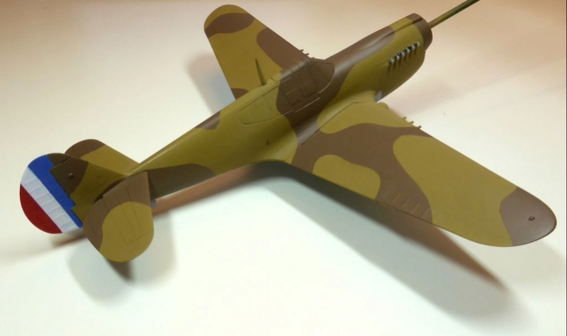 [Hobby Boss] - Curtiss P40 rénovation en Groupe Lafayette 1943  - Page 3 P40ryn31