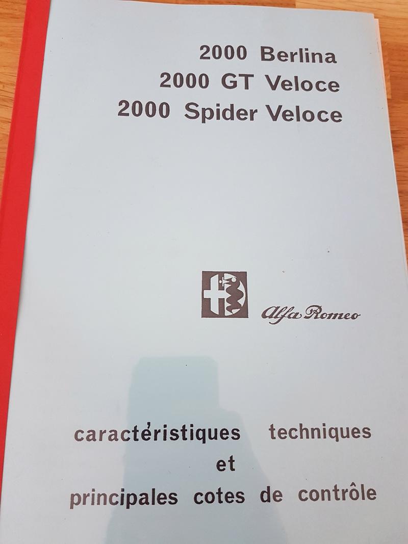 restauration GT 2000 Véloce  - Page 7 20161124