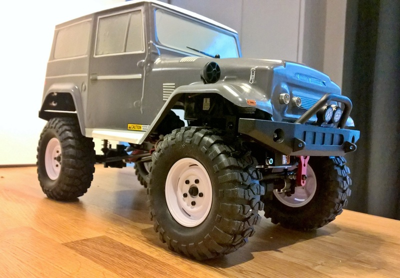 FTX OUTBACK TUNDER 1/10 Wp_20175