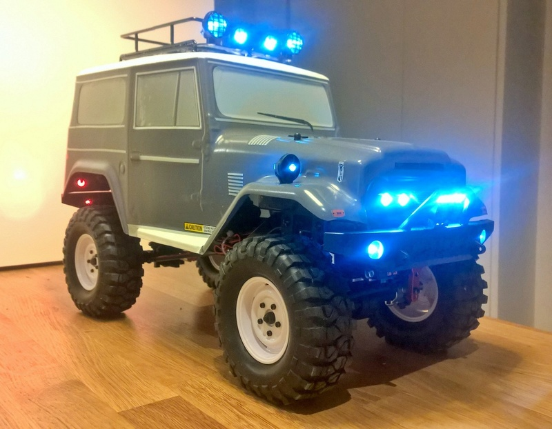FTX OUTBACK TUNDER 1/10 Wp_20212