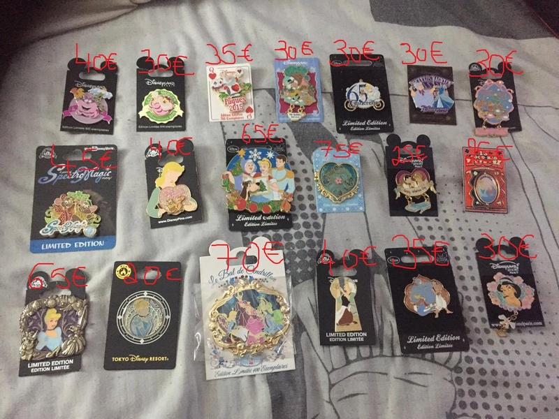 [Vente - Recherche] pin's disney / pin trading  (TOPIC UNIQUE) - Page 14 16010311