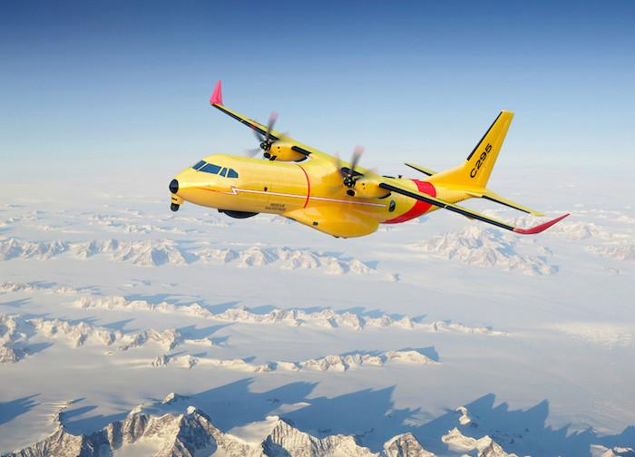 LE CANADA COMMANDE DES AIRBUS  -C295W. C295-c10