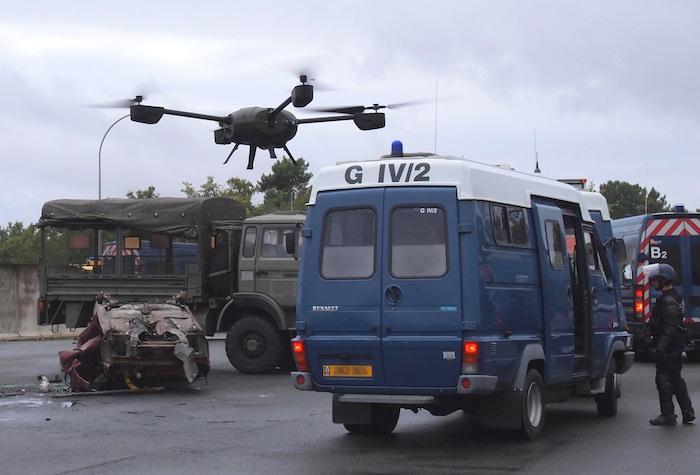NOUVEAUX DRONES POUR LA GENDARMERIE. Nx110_10