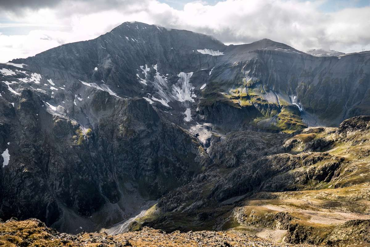 Tour et sommet de l'Aiguille de Loriaz P10b10
