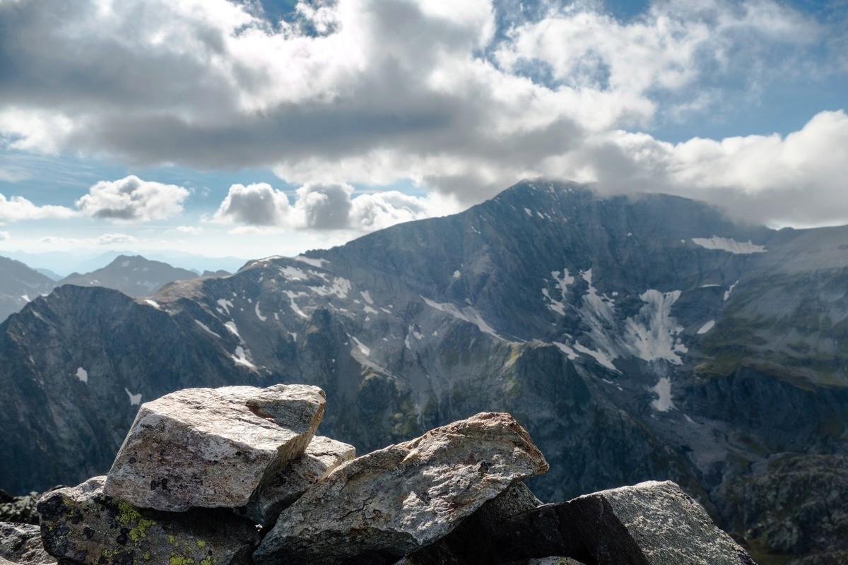 Tour et sommet de l'Aiguille de Loriaz P1310