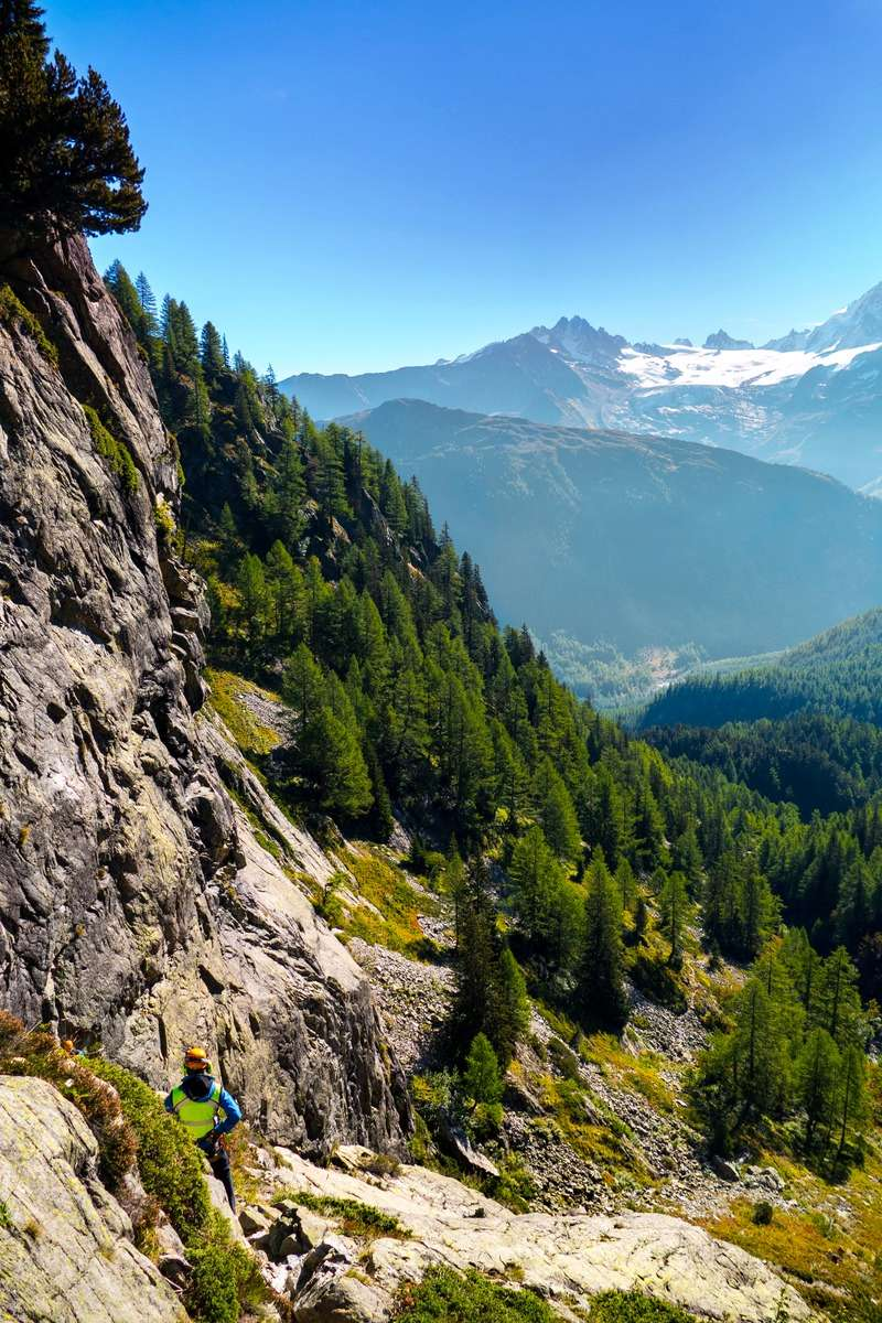 Tour et sommet de l'Aiguille de Loriaz P210