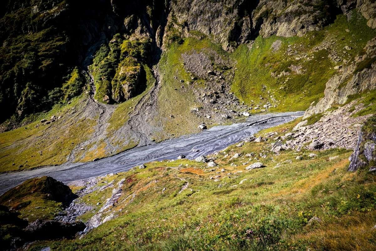 Tour et sommet de l'Aiguille de Loriaz P410