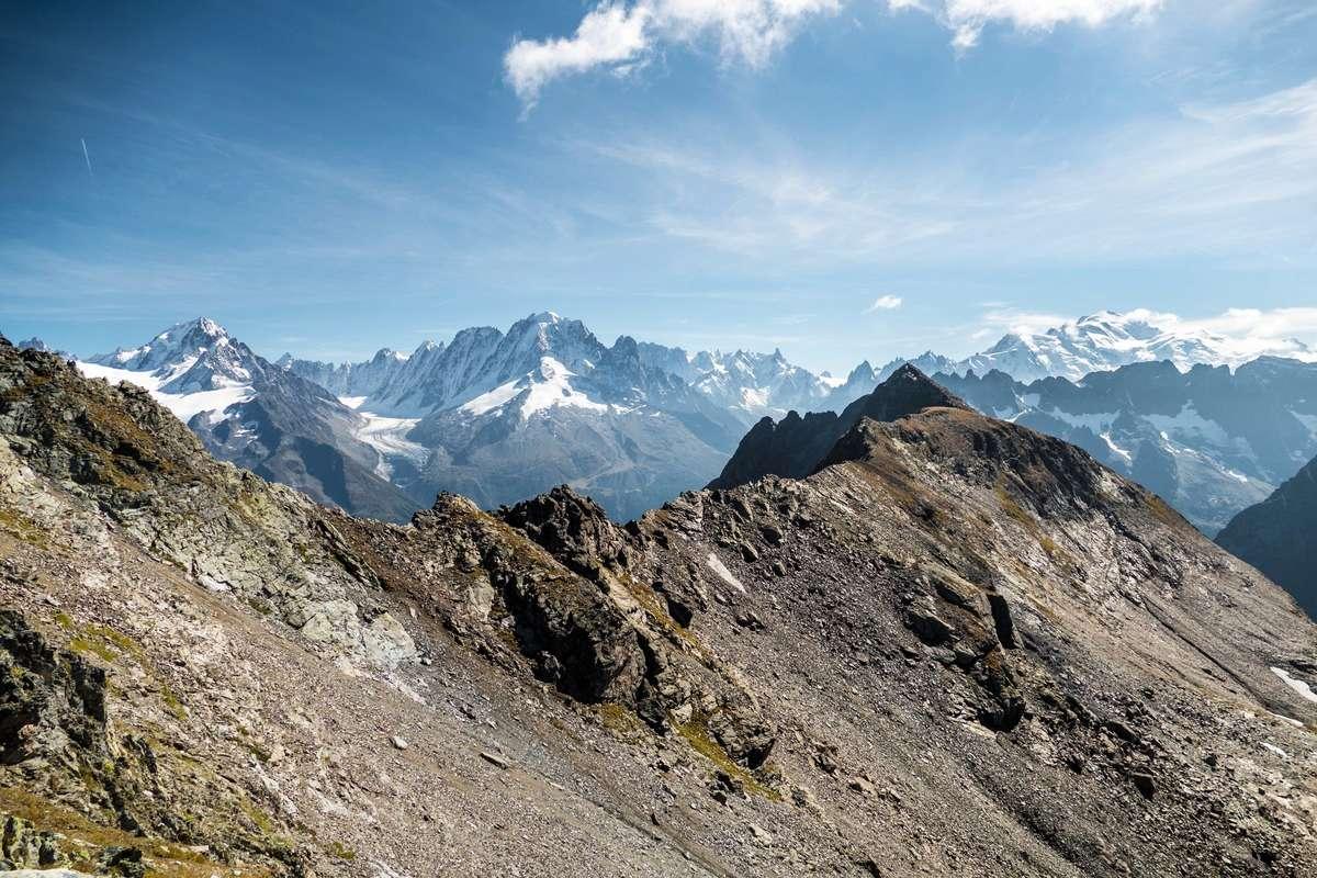 Tour et sommet de l'Aiguille de Loriaz P610